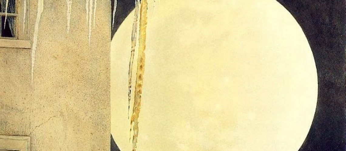 Andrew Wyeth, Moon Madness, 1982