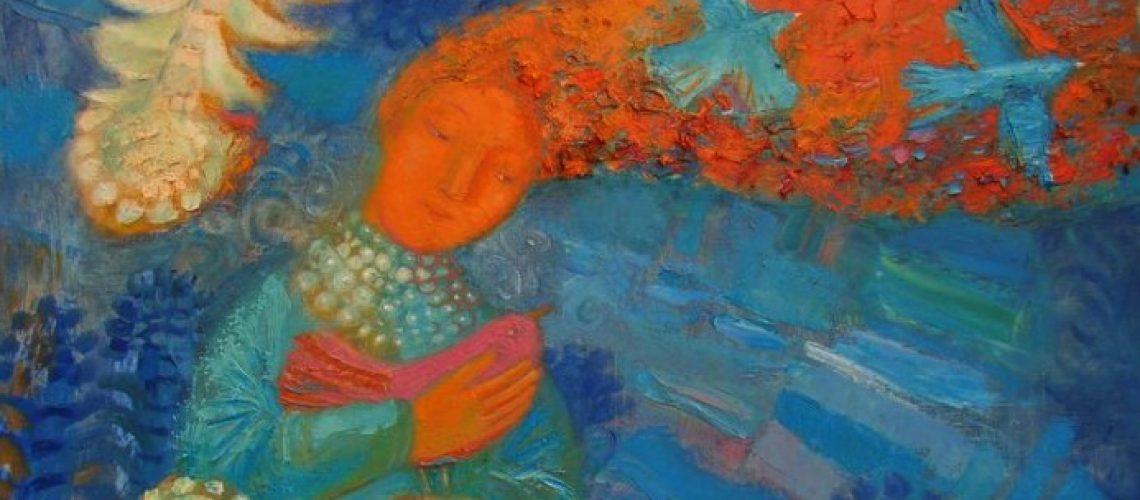 Dreaming on Kupala by Ukraine artist Inna Pantelemonova