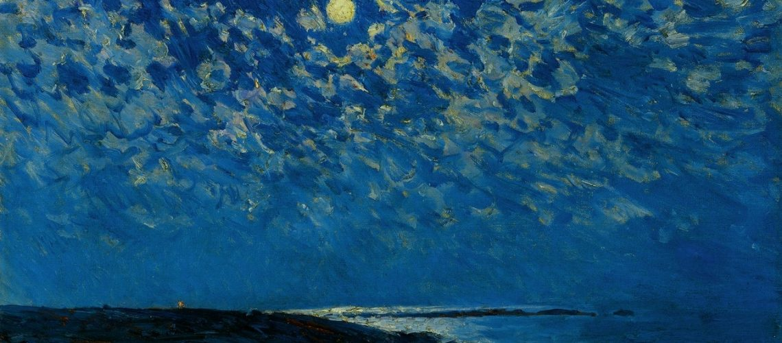 Full Moon by Frederick Childe Hassam (1859-1935)